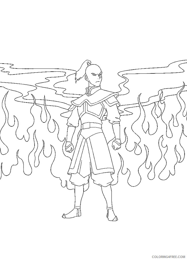 Avatar The Last Airbender Coloring Pages - Avatar The Last ... | 900x650