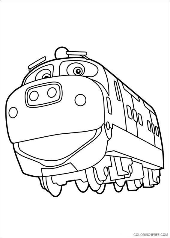 chuggington coloring pages tv film chuggington character