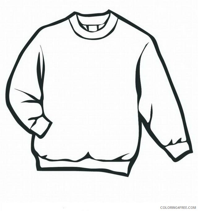 Clothing Coloring Pages Printable Coloring4free Coloring4free Com