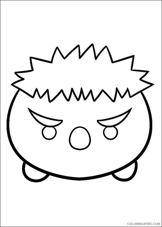 - Disney Tsum Tsum Coloring Pages Printable Coloring4free - Coloring4Free.com