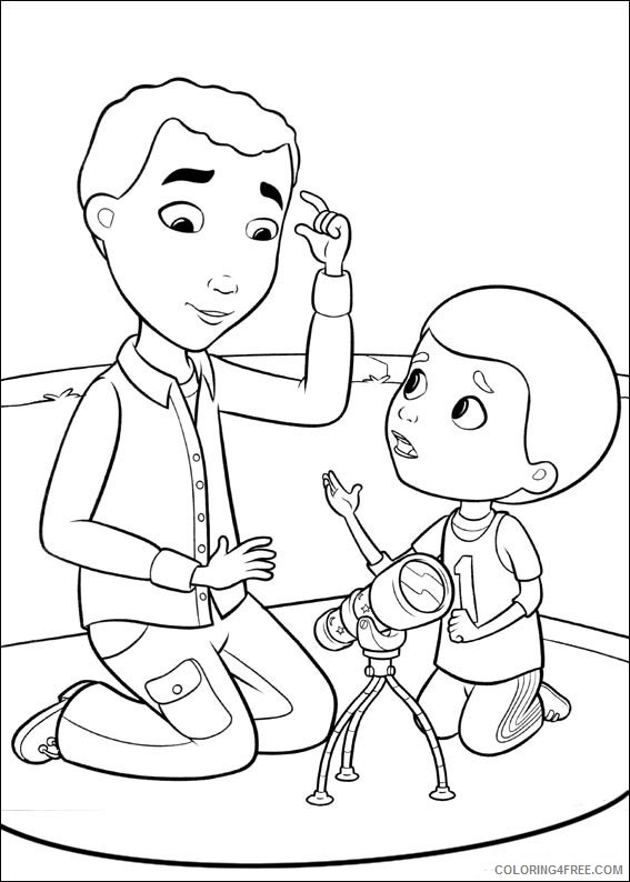 Doc Mcstuffins Coloring Pages Dad And Donny Coloring4free