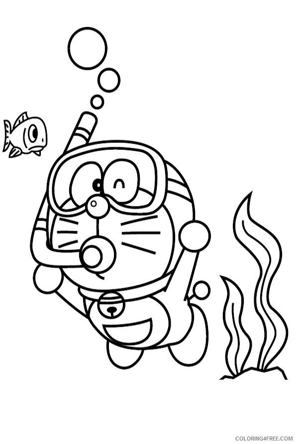 Doraemon 14 - Friv Free Coloring Pages For Children ... | 892x595
