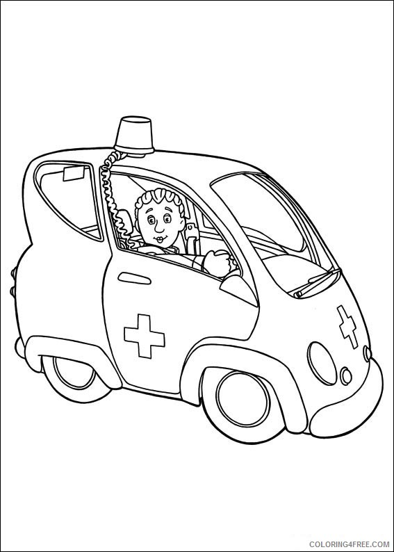Fireman Sam - Free printable Coloring pages for kids | 794x567
