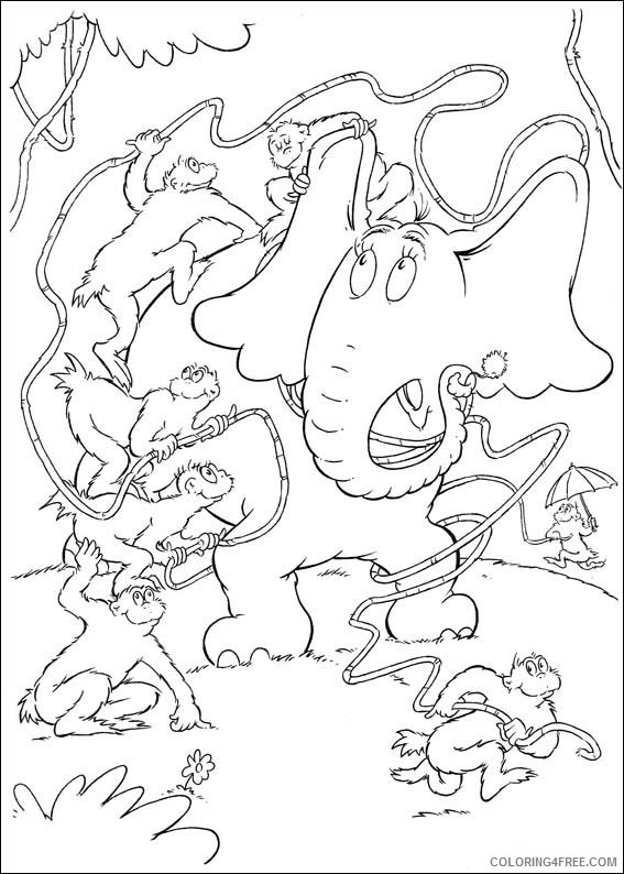 27+ Horton Hears A Who Coloring Page