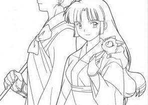 Kawaii Shiba Inu Coloring Pages Printable | 210x296