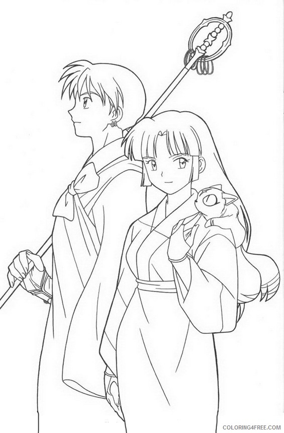 Inuyasha Coloring Pages | 860x565