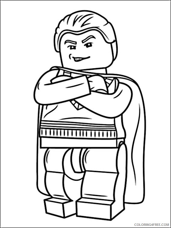 - Lego Harry Potter Coloring Pages Printable Coloring4free - Coloring4Free.com