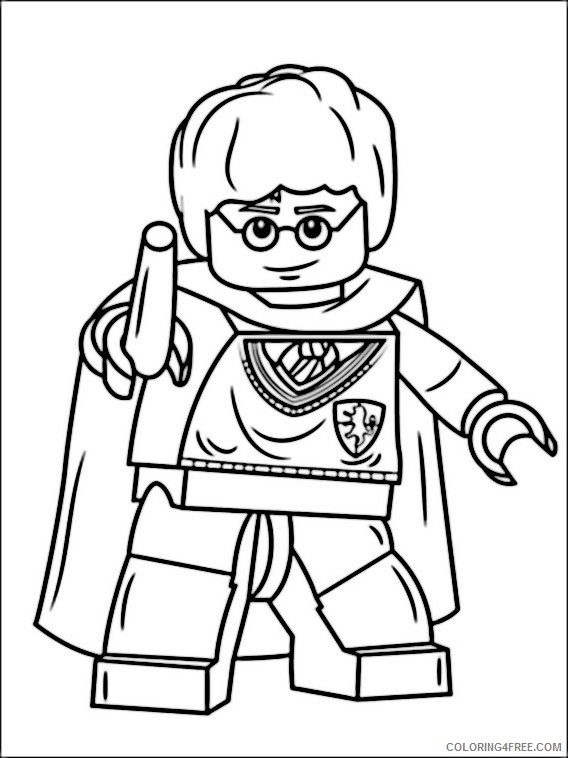 Coloring Pages Printable Harry Potter Free For Kids Activity ... | 758x568