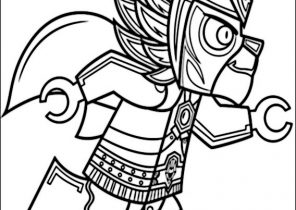 Lego Legends Of Chima Coloring Pages Coloring4free Com