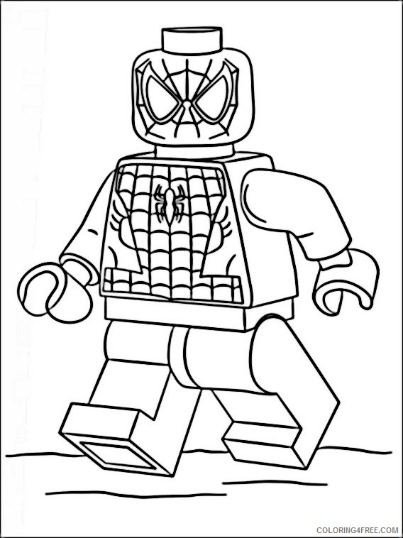 Free Superhero Coloring Pages Marvel Heroes Coloring Pages Fresh ... | 758x568