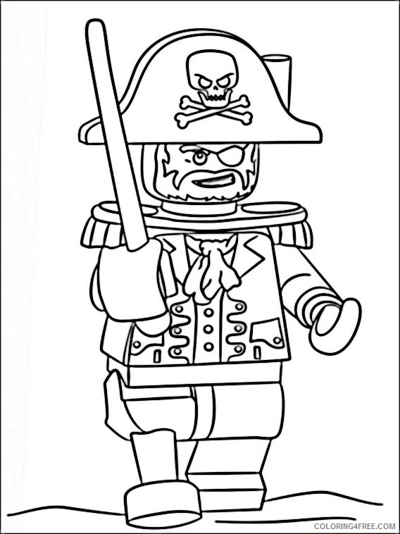 Lego Pirates Of The Caribbean Coloring Pages Printable Coloring4free Coloring4free Com