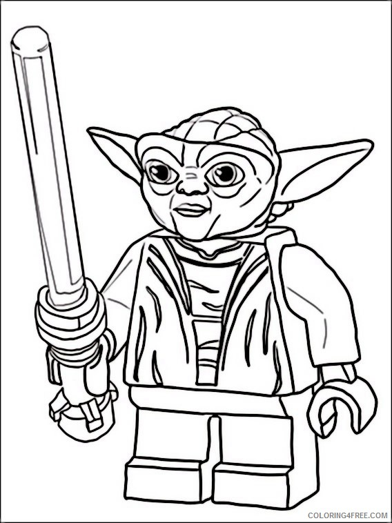 LEGO Star Wars Coloring Pages - GetColoringPages.com | 758x568