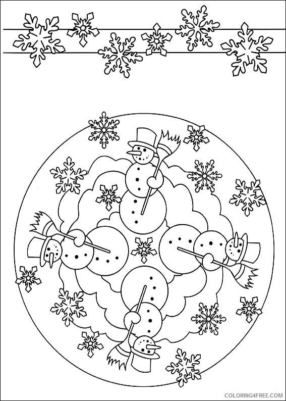 Square Mandala Coloring Pages Coloring4free Coloring4free Com