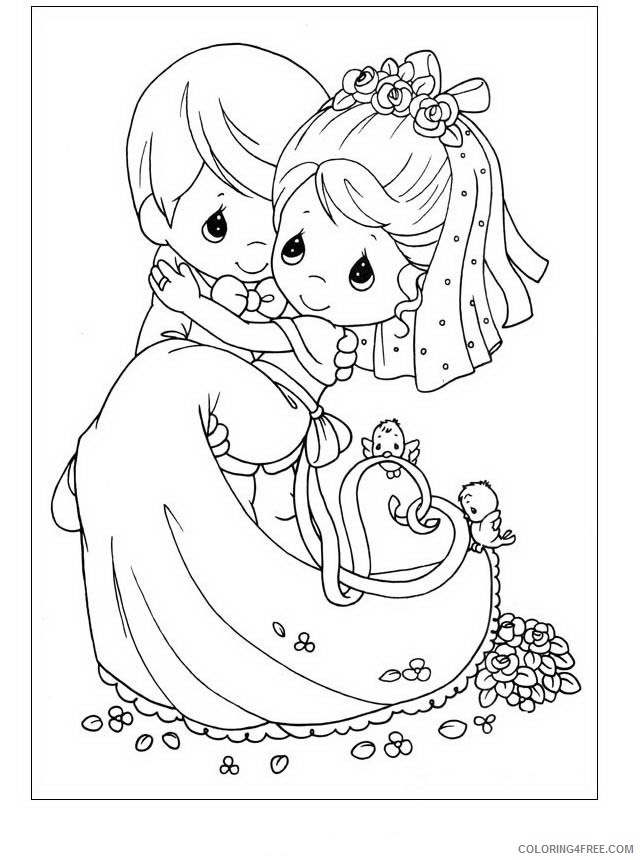 - Precious Moments Coloring Pages Printable Coloring4free - Coloring4Free.com