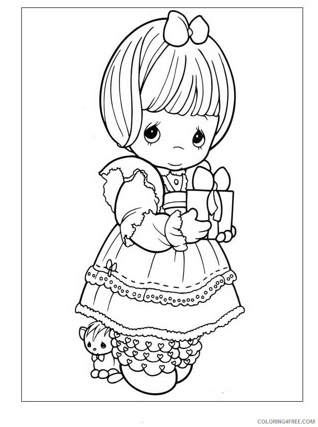 - Precious Moments Coloring Pages Fathers Day Coloring4free -  Coloring4Free.com