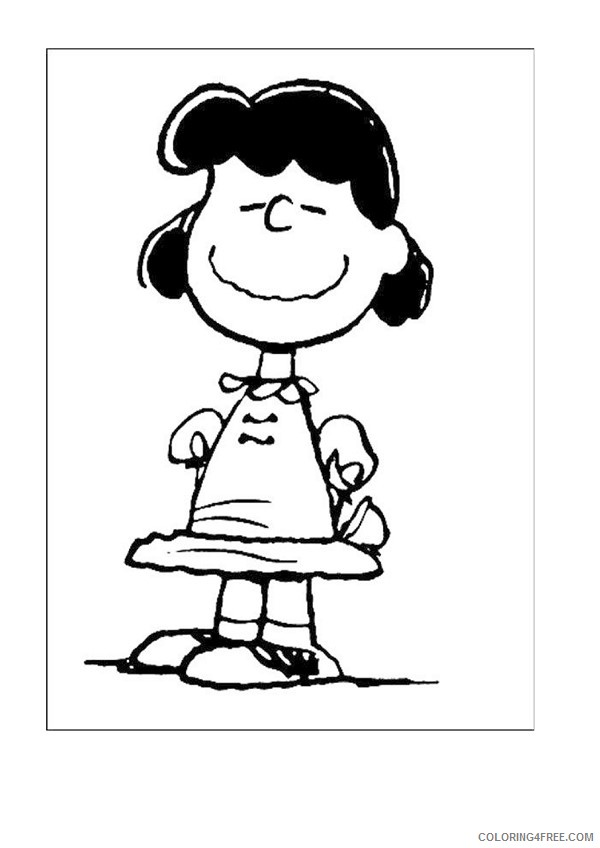 Snoopy Coloring Pages Printable Coloring4free ...