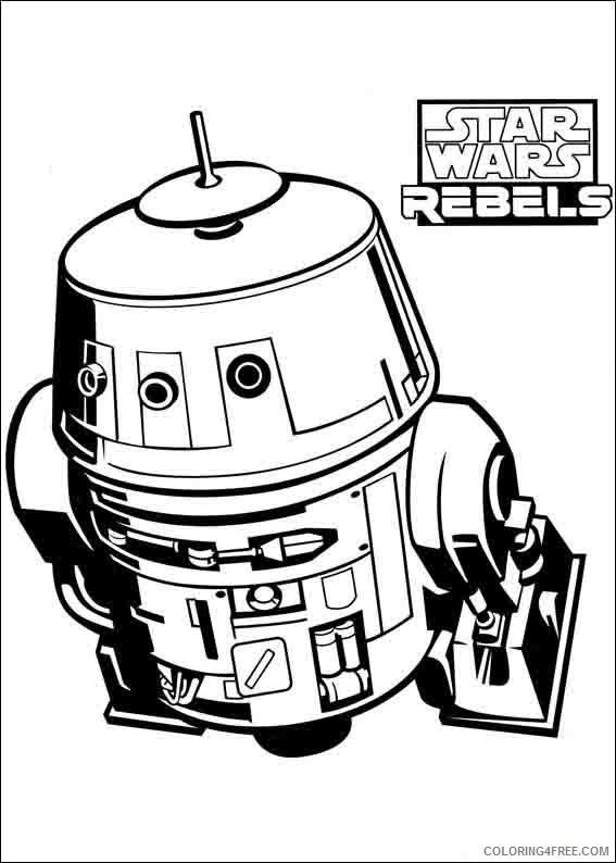 Star Wars Rebels Coloring Pages Printable Coloring4free ...