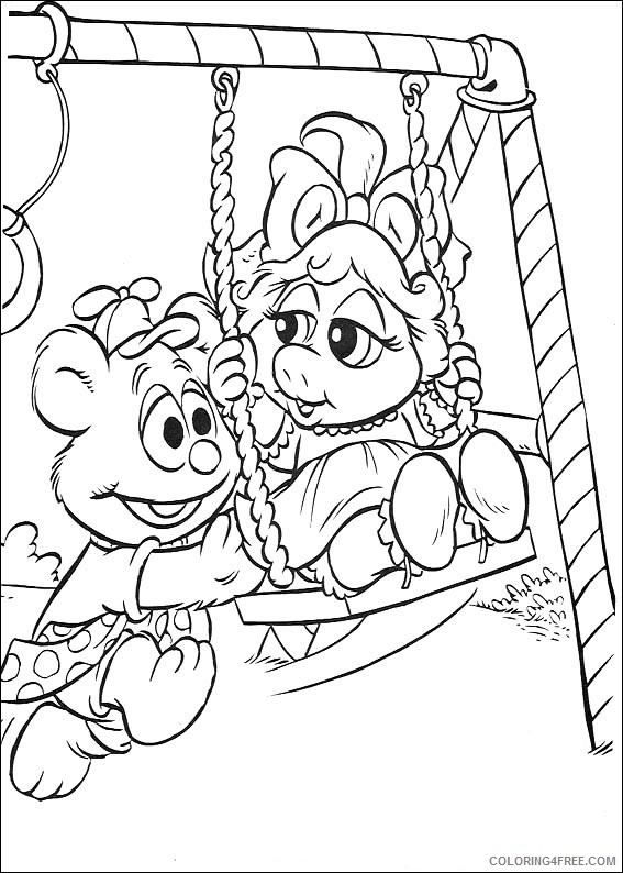 The Muppets Coloring Pages Printable Coloring4free Coloring4free Com