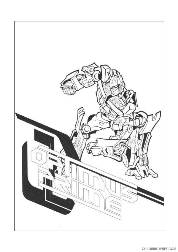 - Transformers Coloring Pages Printable Coloring4free - Coloring4Free.com