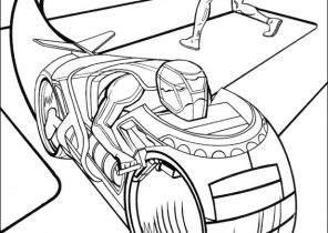 Tron Coloring Pages Coloring4free