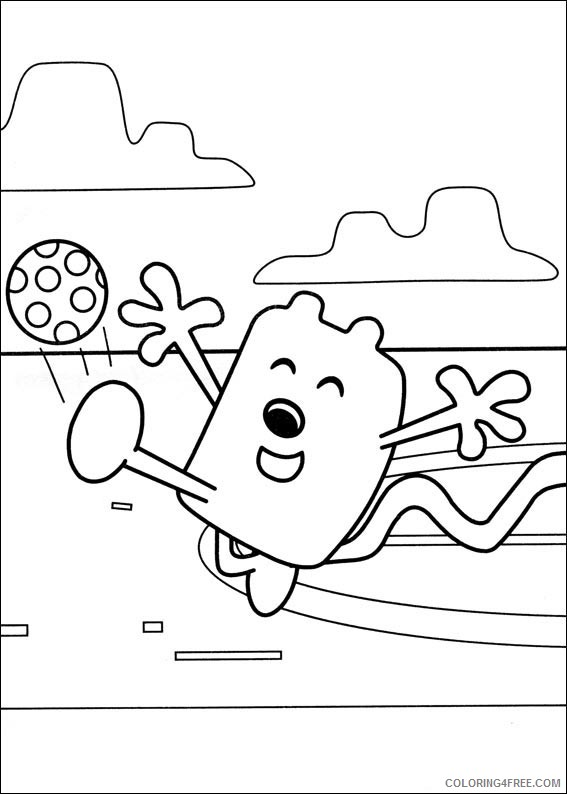 Wow Wow Wubbzy Coloring Page - Coloring Home   794x567