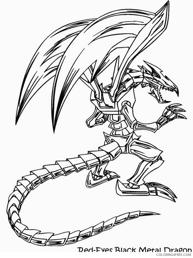 Yu Gi Oh Coloring Page Tv Series Coloring Page   PicGifs.com   853x640
