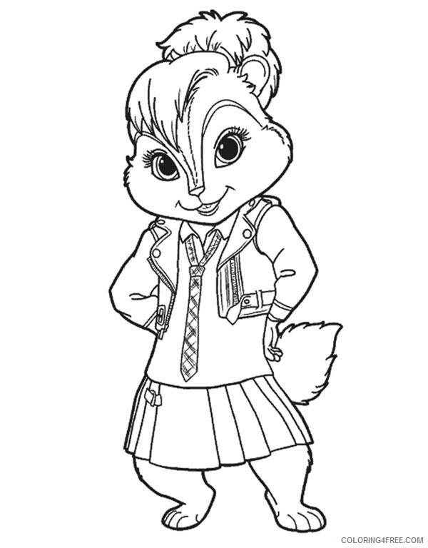 Alvin And The Chipmunks Coloring Page (4) | Wecoloringpage ... | 768x600