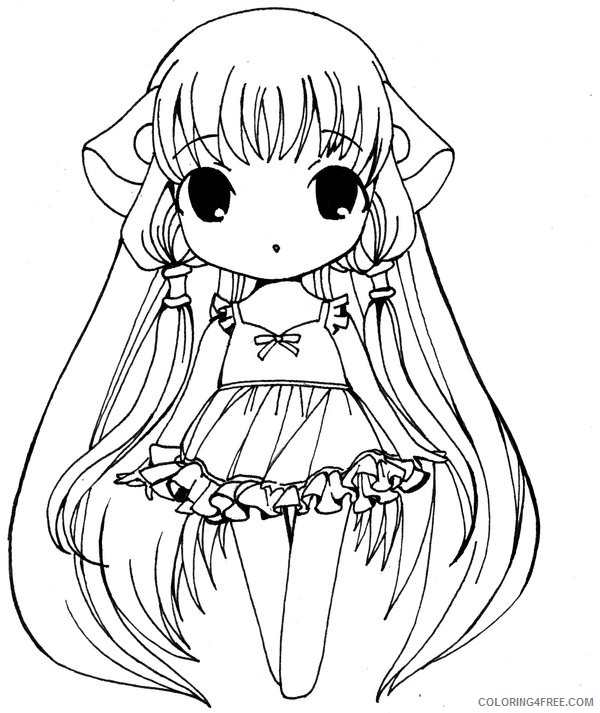 33 Anime Girl Coloring Pages - Visual Arts Ideas | 713x600