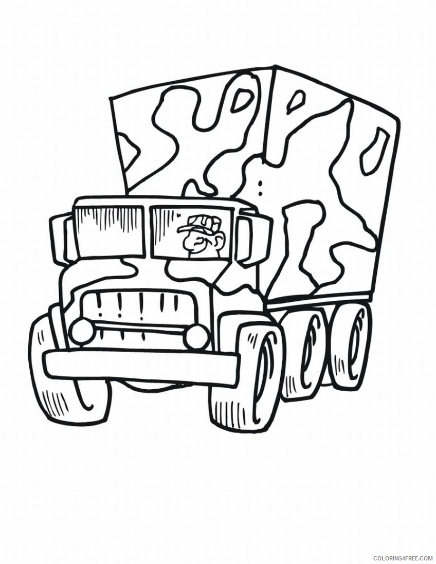 Army Vehicles coloring pages | Free Coloring Pages | 1097x848