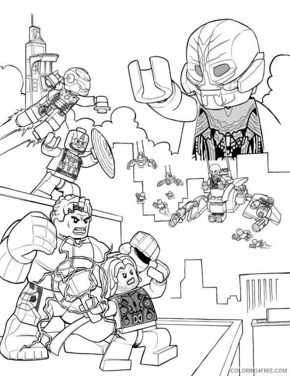 Avengers Coloring Pages Black Widow Coloring4free Coloring4free Com