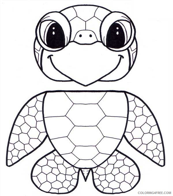 - Baby Sea Turtle Coloring Pages Printable Coloring4free - Coloring4Free.com