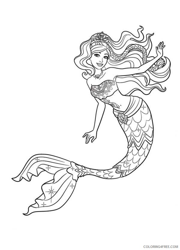 Punk Little Mermaid Coloring Pages With Collection - Melody Little ... | 834x600