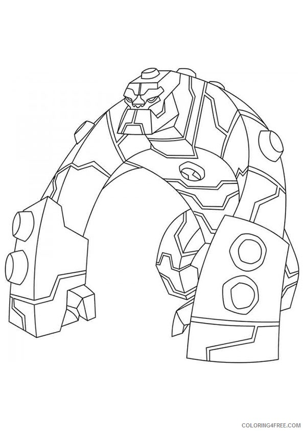 Free Printable Ben 10 Coloring Pages For Kids | Coloring pages for ... | 842x595