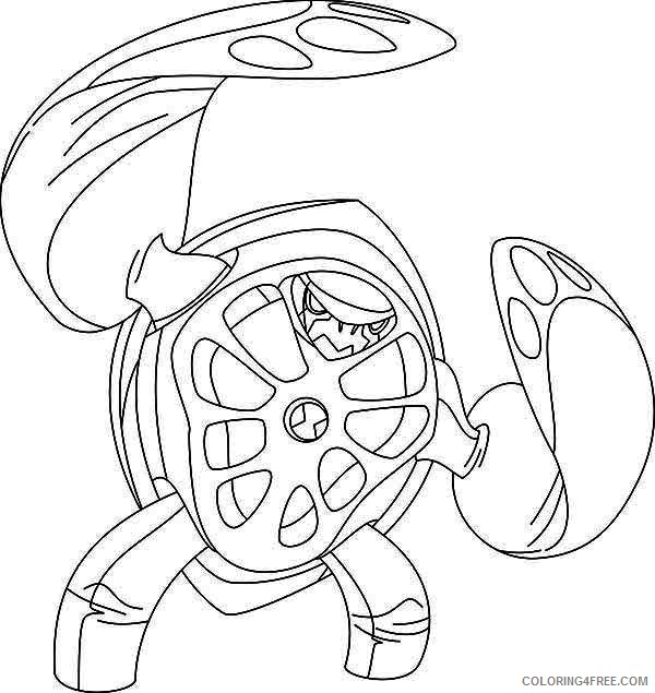 Coloring page Ben 10 10   635x600