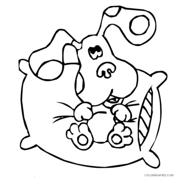 Blue's Clues Coloring Pages 9 | 709x700