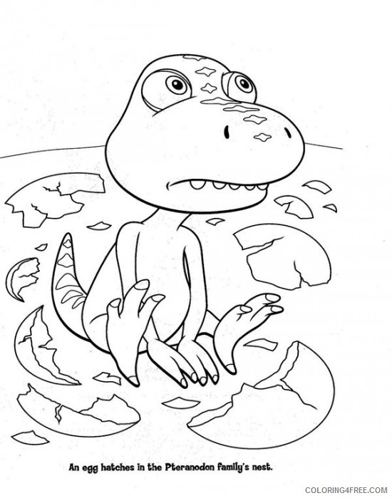 Buddy Dinosaur Train Coloring Pages Coloring4free Coloring4free Com