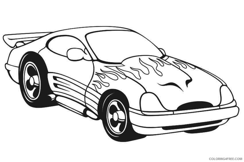 Car Coloring Pages Printable Coloring4free - Coloring4Free.com