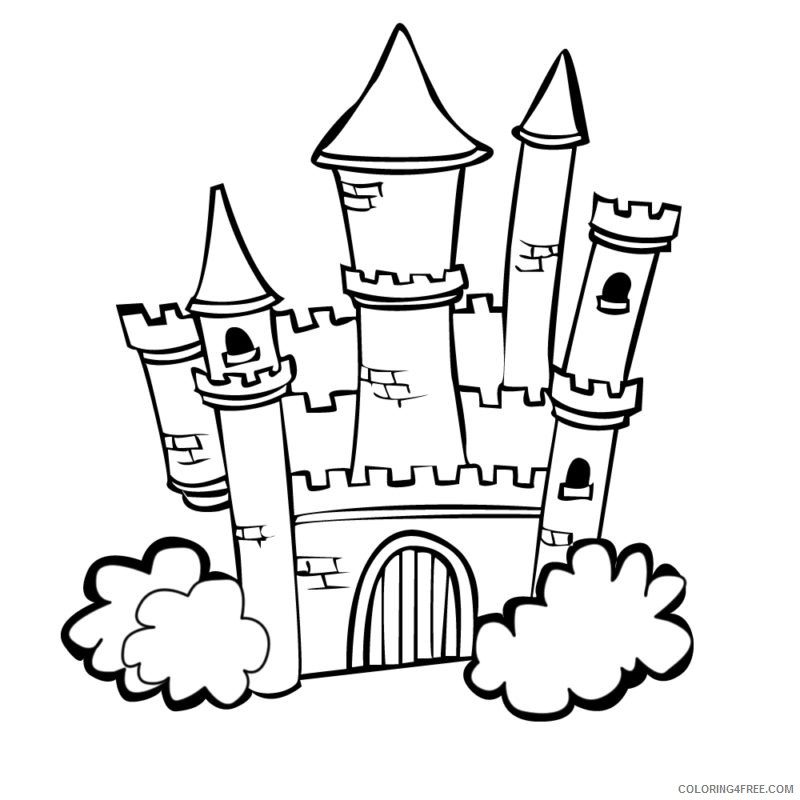 Free Printable Lego Castle Coloring Pages - Coloring Home | 800x800