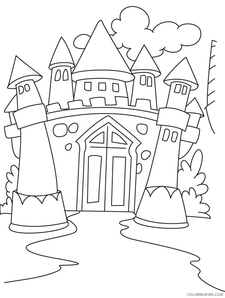 Free Printable Lego Castle Coloring Pages - Coloring Home | 954x720