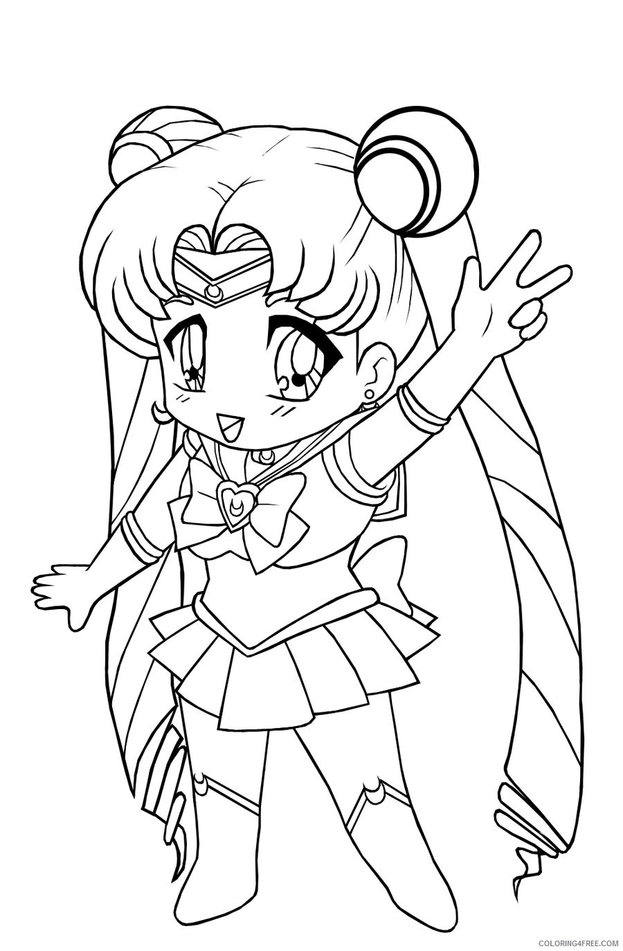 Free Miku Hatsune Coloring Pages, Download Free Clip Art, Free ... | 1374x900