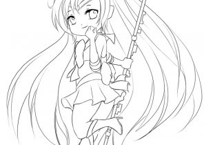 Chibi Coloring Pages Coloring4free Com