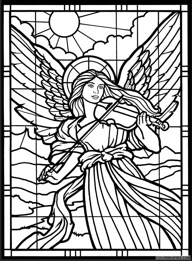 - Christian Coloring Pages For Adults Coloring4free - Coloring4Free.com