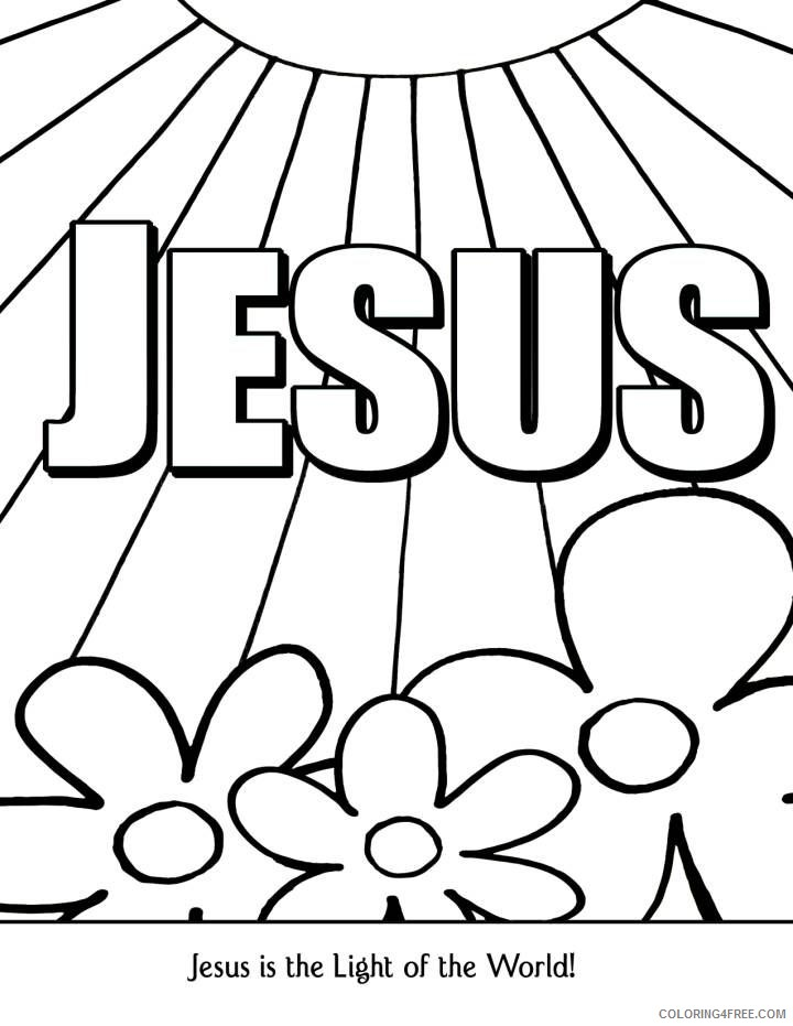 Christian Coloring Pages With Bible Verses Coloring4free - Coloring4Free.com