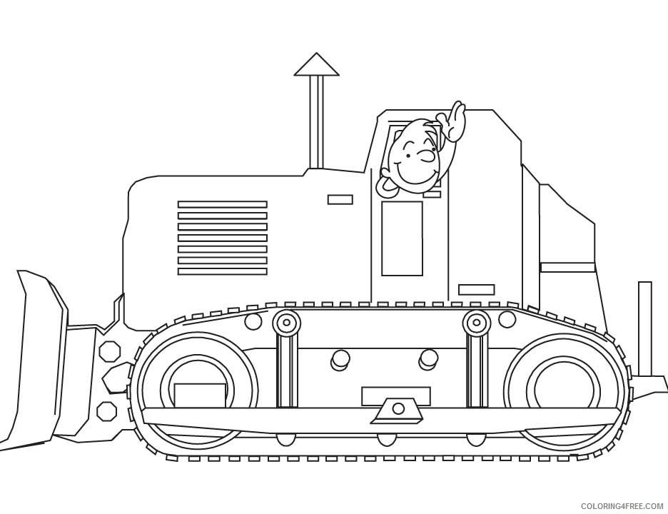 Construction Truck Coloring Pages