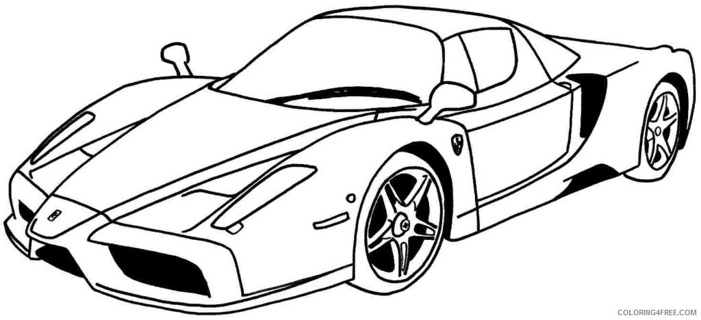 - Cool Car Coloring Pages For Teens Coloring4free - Coloring4Free.com