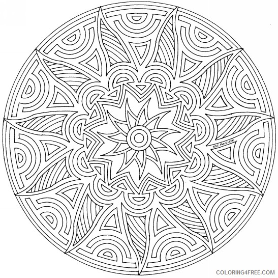 Free Printable Geometric Coloring Pages For Kids | 546x547