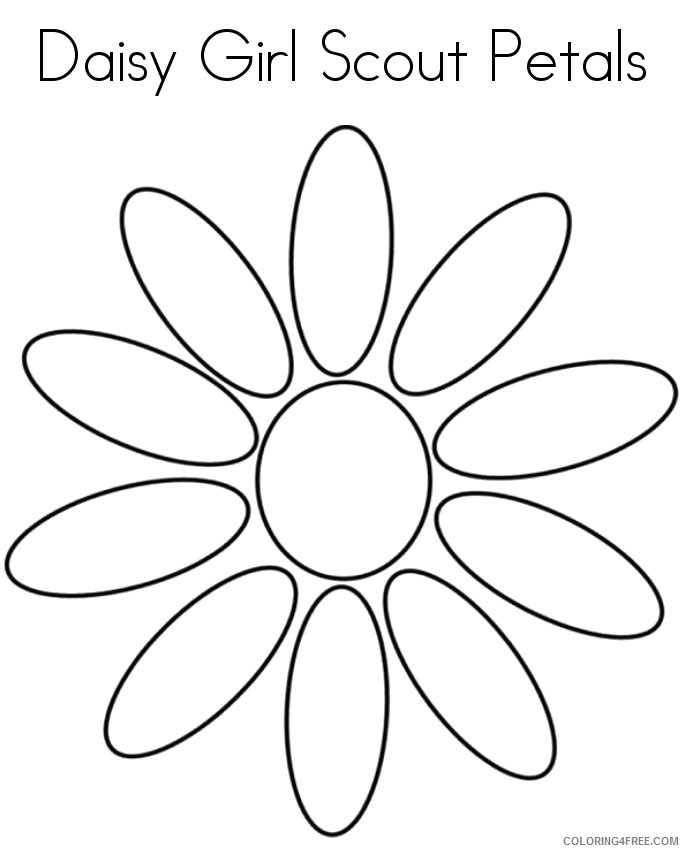 coloring book ~ Girl Scout Bridgingisy To Brownie Coloring Pages ... | 852x685