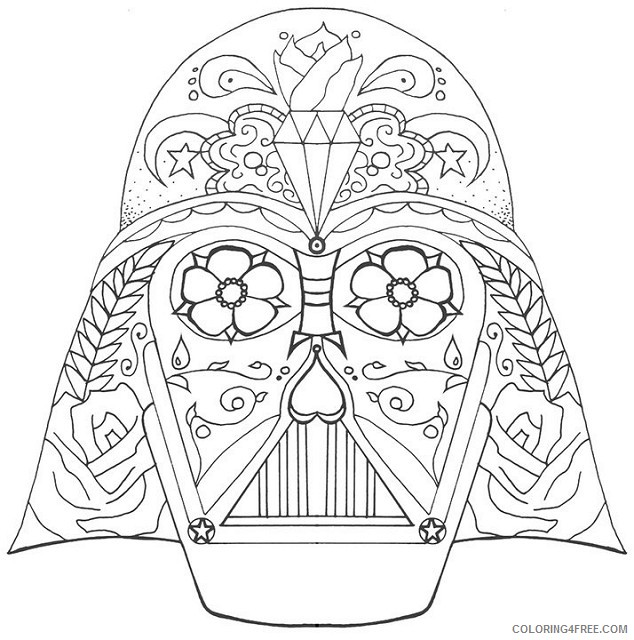 Darth Vader Coloring Pages Lego Coloring4free Coloring4free Com