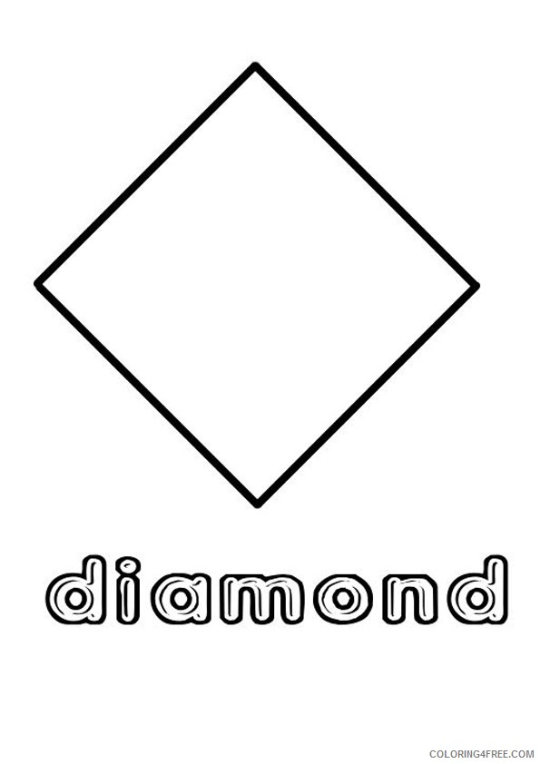 shape with names coloring pages Coloring4free