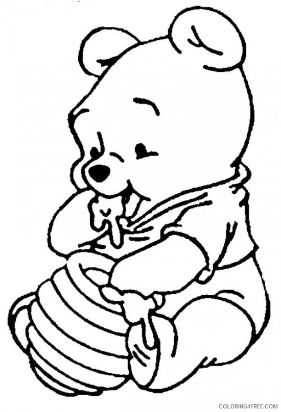 Disney Characters Coloring Pages